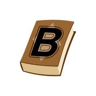 ŒLetter B at Vintage books in hardcover Alphabetical