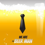 Beer liquid vector illustration concept