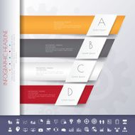Design flat shadow template banners graphic or website Vector N4