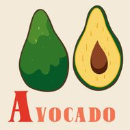 """A"" for avocado"