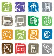 Communication Icons N25