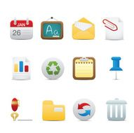Office Icon Set Soft series
