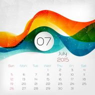 Calendar Vector illustration N7