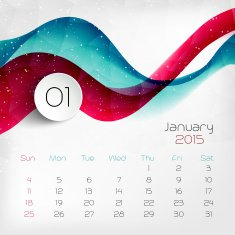 Calendar Vector illustration