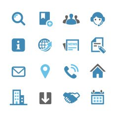 Website Icons - Conc Series
