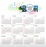colorful calendar design N2