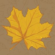 Vector Cartoon Autumn Icon N2