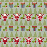 winter holidays pattern background
