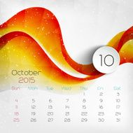 Calendar Vector illustration N12