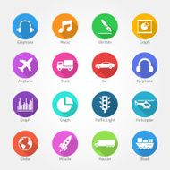 Universal icon set - Illustration N2