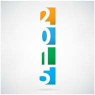 Happy new year 2015 Text Design N5