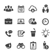 Business Icons-Acme Series