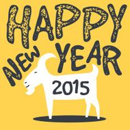 happy goat chinese new year 2015 N2