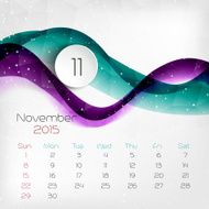 Calendar Vector illustration N14