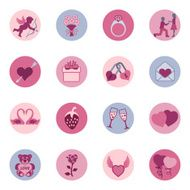 Valentine's Day Icon Set N2