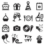 birthday icons N2