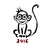 Chinese Zodiac Monkey N39