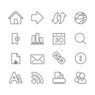 Internet and Media - Simple Icons N3