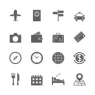 Travel Icons Set N4