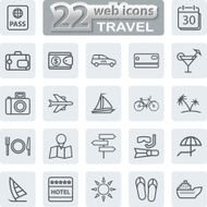Travel And Tourism Icons N2