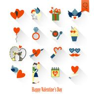 Happy Valentines Day Icons N238