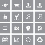 Universal Icon Set For Website & Mobile N233