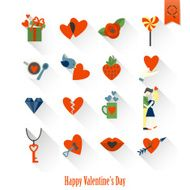 Happy Valentines Day Icons N247
