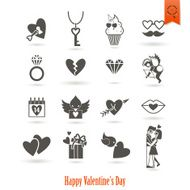 Happy Valentines Day Icons N250