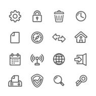 Web Icons - Line Series
