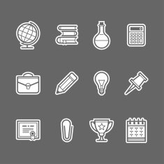 Education icons N11
