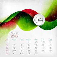 Calendar Vector illustration N15