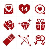 valentines icon set N2