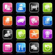 Ubergloss Icons - Furniture Delivery