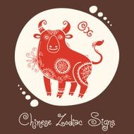 Ox Chinese Zodiac Sign N2