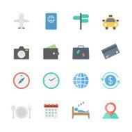 Travel Icons Set N5