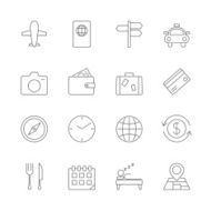 Travel Icons Set N6