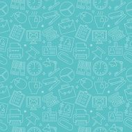 office line icon pattern set N8
