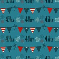 4th of July pattern