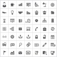 Office icons vector N7