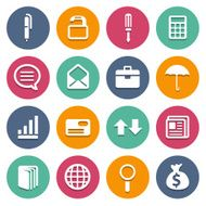 Website icons set great for any use Vector EPS10 N6