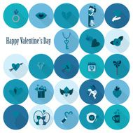 Happy Valentines Day Icons N300