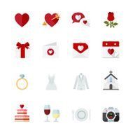 Wedding and Love Icons N3