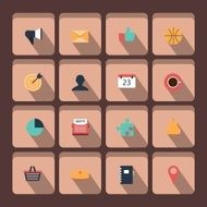 set of vector universal icons N3