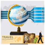Travel And Journey World Map Infographic N3