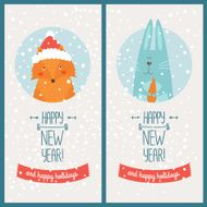 Happy new year card N20
