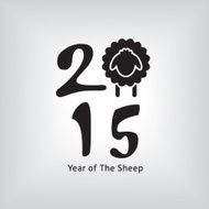Year of The Sheep Square Design