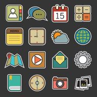 Application icons N5