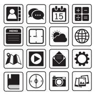 Application icons N6