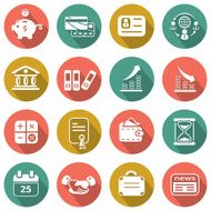 Flat Business icons N9