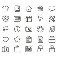 Universal Line Icons For Web and Mobile 3